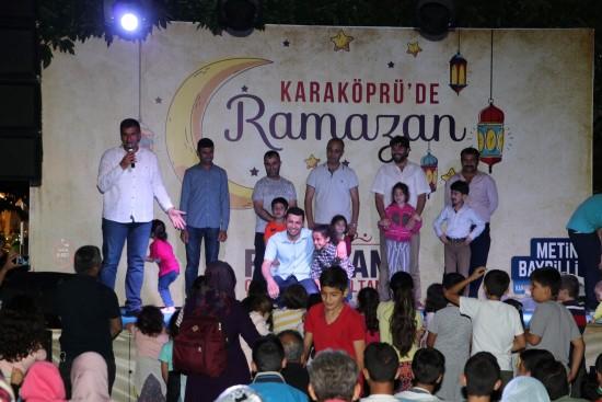 Yaşam sokağında Ramazan etkinlikleri devam ediyor