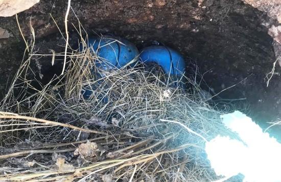 Suriye sınırında 70 kilo patlayıcı ele geçirildi