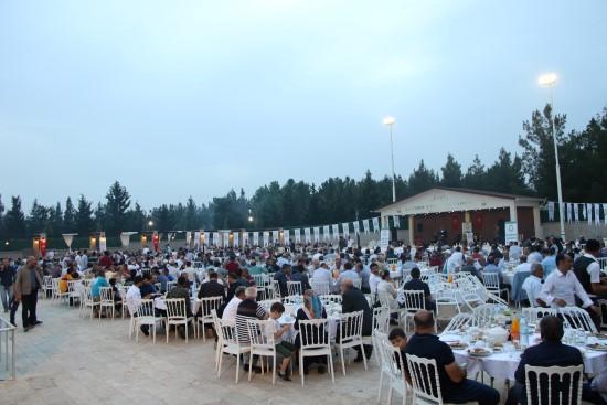 Canpolat belediye personelleriyle iftar yaptı