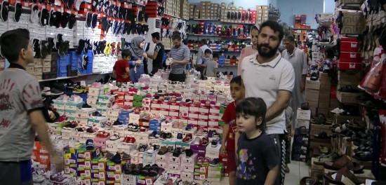 Şanlıurfa'da vatandaşları bayram heyecanı sardı