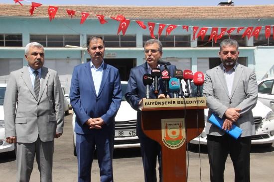 Şanlıurfa'da kiralık araçlardan 7 milyon liralık tasarruf
