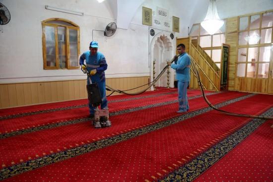 Eyyübiye'de cami temizleme seferberliği