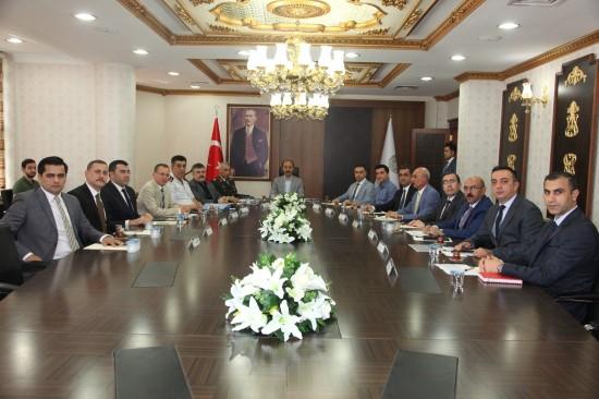 Şanlıurfa'da genişletilmiş güvenlik toplantısı