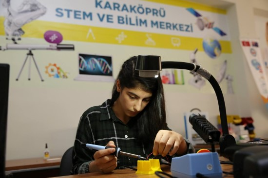 Karaköprü STEM Merkezi Avrupa'nın en iyisi