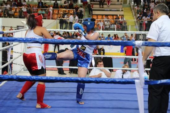 Haliliyeli kick bokscular şampiyonaya damga vurdu