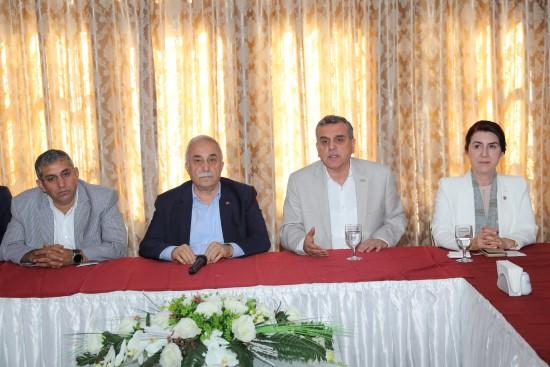 Başkanlar Şanlıurfaspor'un durumunu değerlendirdi