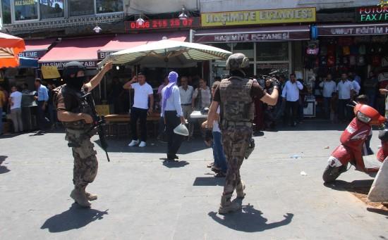 Şanlıurfa'da canlı bomba yakalandı