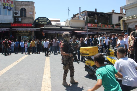 Bomba taşıyan teröristin YPG'li olduğu ortaya çıktı
