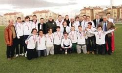 Türkiye Şampiyonasında zafer Kadıköy Lisesinin