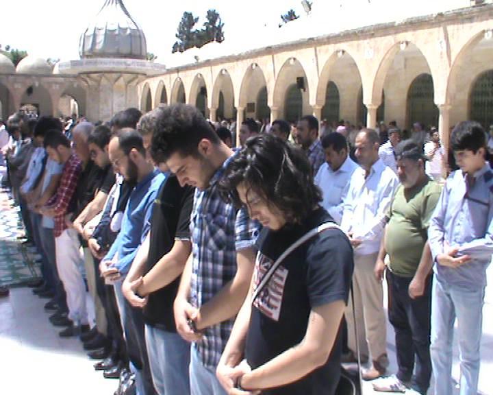 Urfa'da Soma için Gıyabi cenaze namazı kılındı