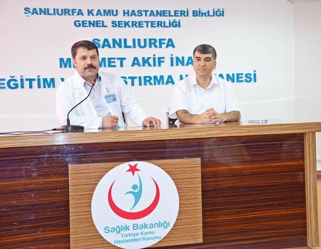 M.Akif İnan Hastanesinde Devir teslim töreni