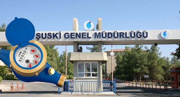 Urfa\'da 300 bin Su sayaçını Ankara firması okuyor