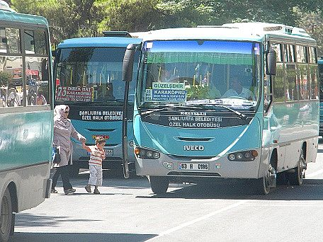 Belediye\'den Şanlıurfa Halk otobüsleri ile ilgili açıklama