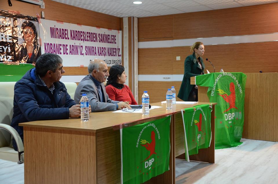 DBP Halfeti İlçe Kongresi Yapıldı