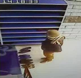 Eyyübiye\'de Camide hırsızlık