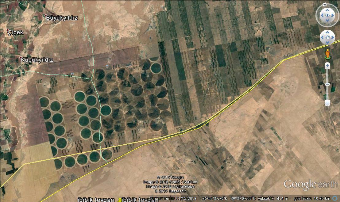 Urfa\'nın Uydu görüntüleri hayrete düşürüyor