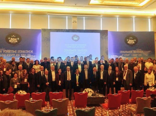 Tarihi Kentler Birliği toplantısı Diyarbakır\'da yapıldı