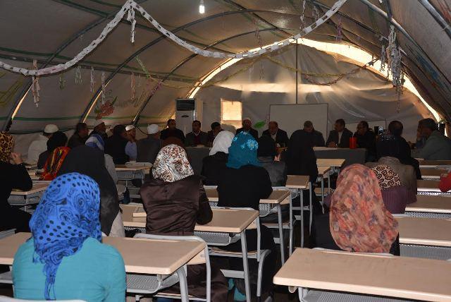 Viranşehir Çadır kentte Kuranı Güzel Okuma Yarışması Yapıldı