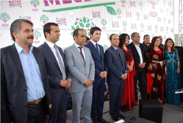 HDP Şanlıurfa Vekil Adaylarını Tanıttı