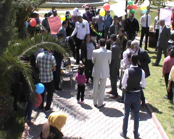 Suriyeli Çoçuklar Otizm Haftasını Kutladı