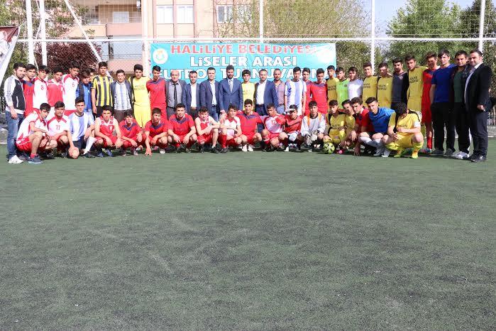 Haliliye\'de Liseler Arası Futbol Turnuvası
