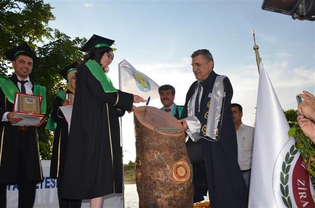 Ziraat Fakültesinde Mezuniyet Töreni