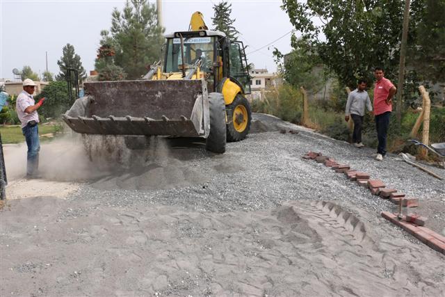 Kısas\'a Haliliye Belediyesinden alt yapı desteği