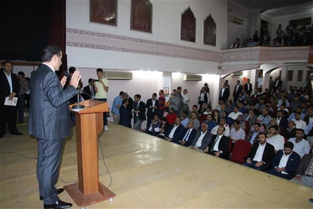 Çelik, AK Partili gençlerin sorularını yanıtladı