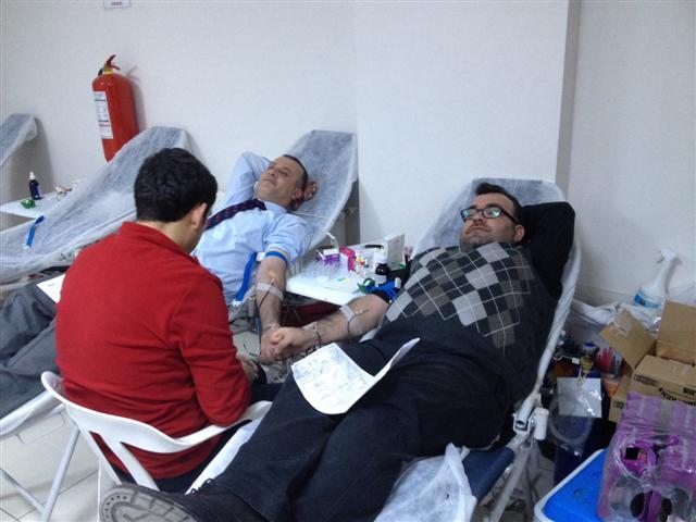 Dicle Epsaş Personelinden Kan Bağışı