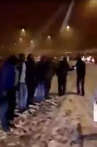Halay sevgisi kar kış dinlemedi