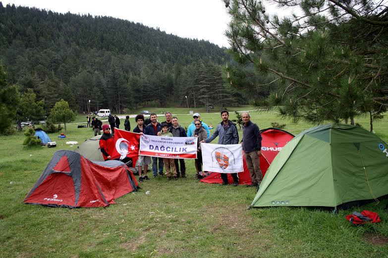 Urfadosk doğa kampına katıldı.
