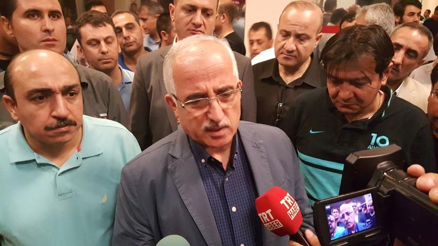 Vali Tuna çatışmayla ilgili açıklamalarda bulundu