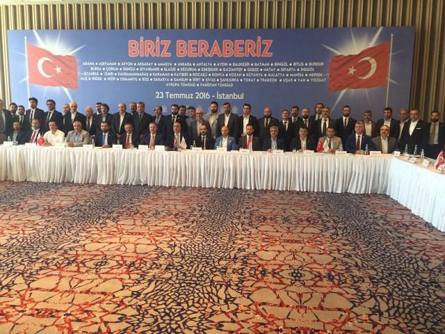 TÜMSİAD?ın Tüm Başkanları İstanbul?dan Seslendi: