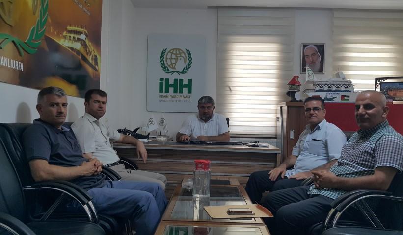 Kürdistan İslami Hareketi\'nden İHH Bölge Koordinatörlüğüne Ziyaret