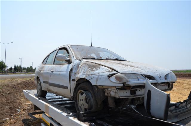 Siverek'te kazada 1 kişi yaralandı