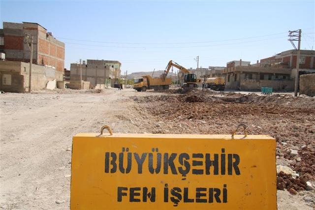 Büyükşehir'den Eyyübiye'ye bir bulvar daha