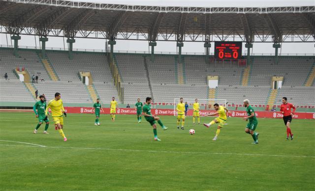 Şanlıurfaspor gol yağdırdı 4-1
