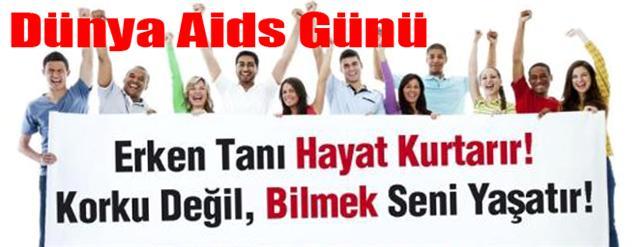 Dünya AIDS gününde urfa'da etkinlik yok