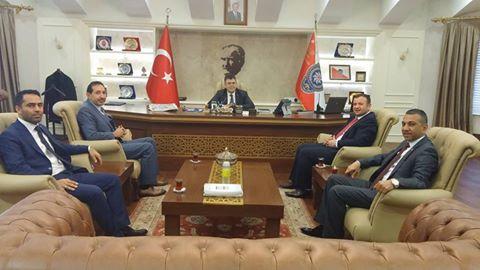 Emniyet Müdürü Tipoğlu'na MHP'den taziye ziyareti