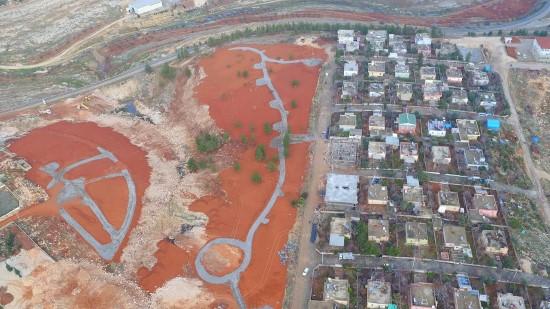 Büyükşehir, Halfeti'de kent park yapımını sürdürüyor