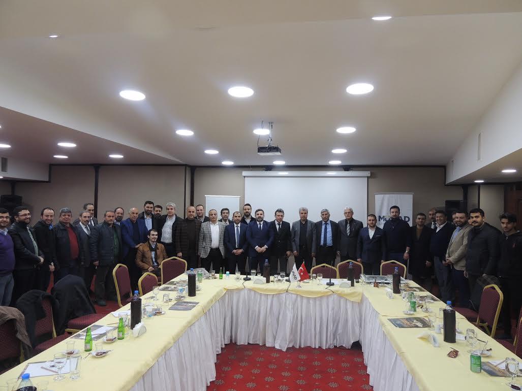 MÜSİAD'dan Üye Bilgilendirme ve istişare toplantısı