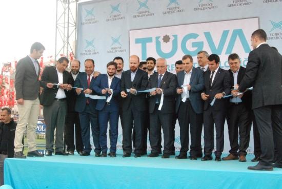Bilal Erdoğan Şanlıurfa?da TÜGVA binasının açılışını yaptı