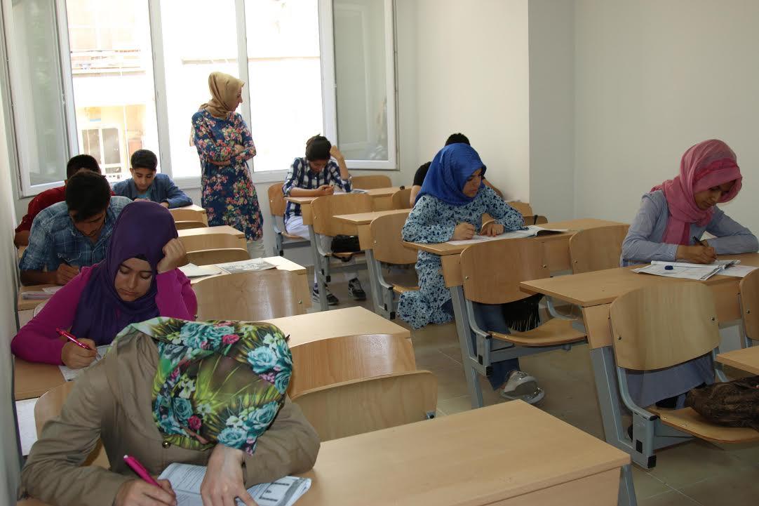 Haliliye Belediyesinden LYS öğrencilerine deneme sınavı