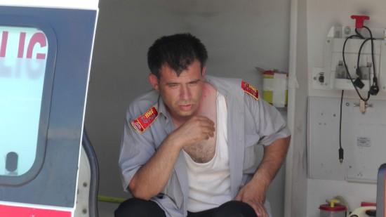 Göç İdaresi müdürü ve personeline saldırı
