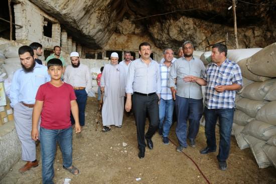 Ekinci, ''mağaralar turizme kazandırılacak''