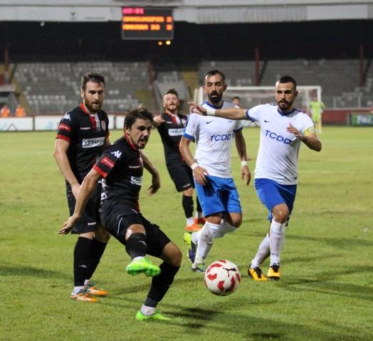 Samsunspor: 3 - Ankara Demirspor: 3