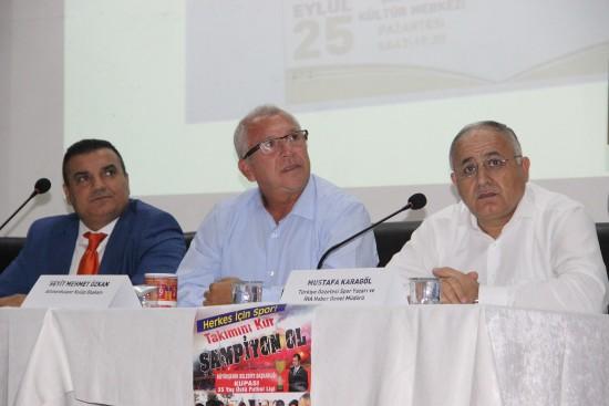''Türk Futbolunda Altyapı Paneli'' Şanlıurfa'da düzenlendi