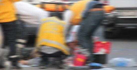 Trafik kazasında ağır yaralanan şahıs öldü
