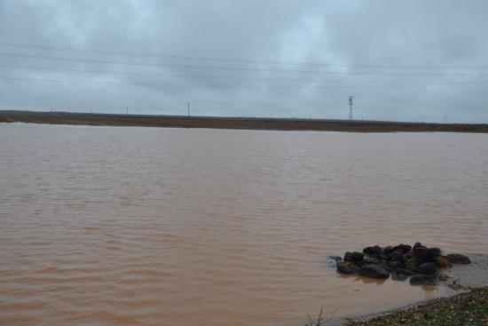 Yağmur duasına çıkılan ilçede tarım arazileri sular altında kaldı