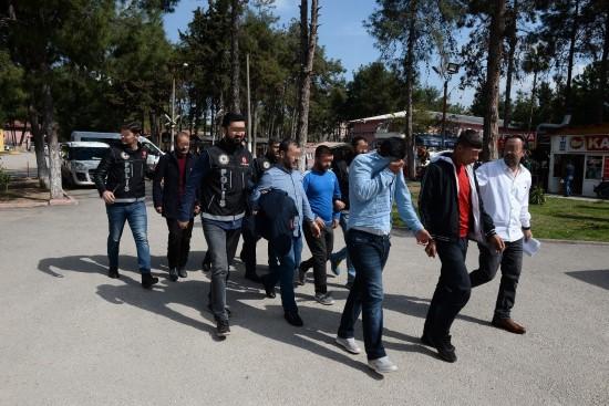 Adana merkezli uyuşturucu operasyonunda 7 tutuklama